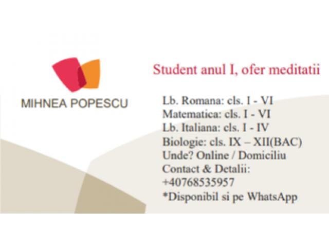 Mihnea Alexandru Popescu - 1